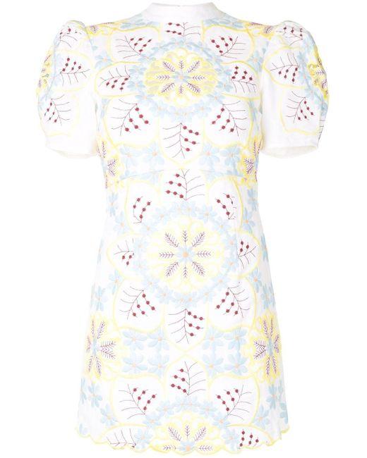 Alice McCALL Vestido Afternoon corto de mujer de color blanco