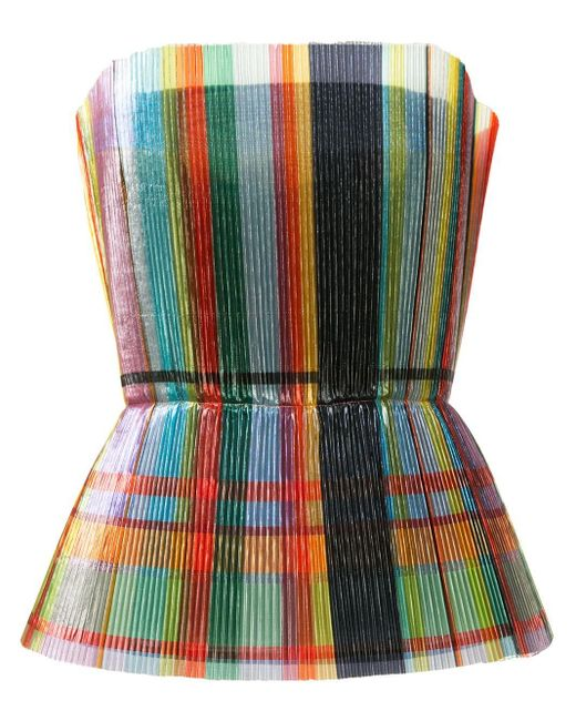 Isabel Sanchis メタリックトップ Multicolor