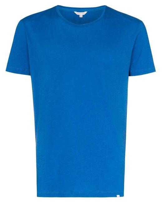 メンズ Orlebar Brown ショートスリーブ Tシャツ Blue