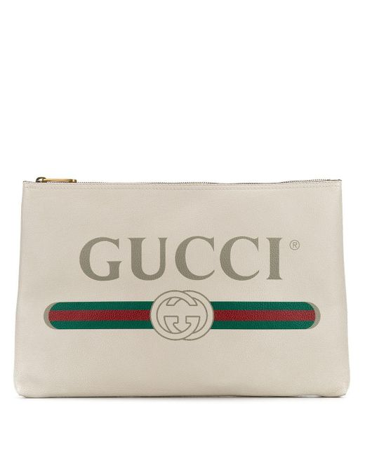 Gucci プリント クラッチバッグ Multicolor