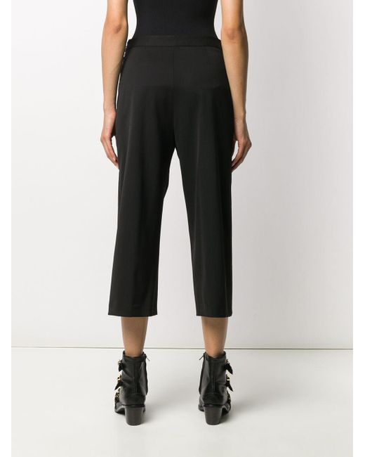Versace メデューサ クロップドパンツ Black
