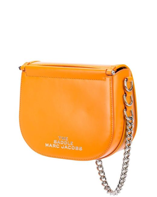 Marc Jacobs The Saddle バッグ Orange