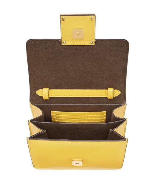 Сумка Через Плечо Fab Fendi, цвет: Yellow