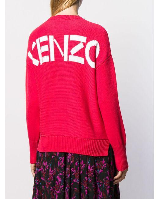 KENZO ロゴ セーター Pink