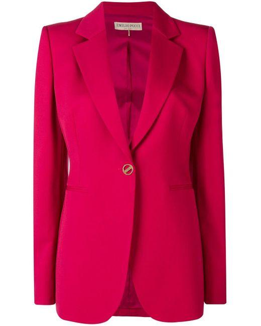 Emilio Pucci テーラードジャケット Pink