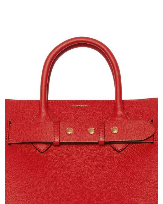 Маленькая Поясная Сумка С Заклепками Burberry, цвет: Red