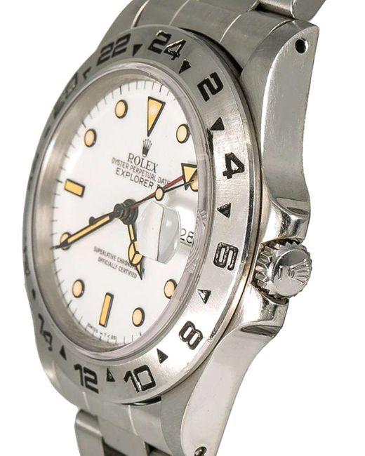 Наручные Часы Pre-owned Explorer Ii 40 Мм 1987-го Года Rolex для него, цвет: White