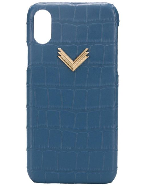 Manokhi Iphone X/xs ケース Blue