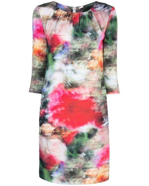 Adam Lippes フローラル ドレス Multicolor