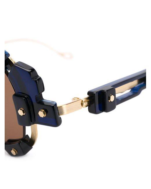 Kuboraum Black V1 Sun Mask Sunglasses