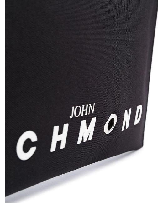 メンズ John Richmond Oakland クラッチバッグ Black