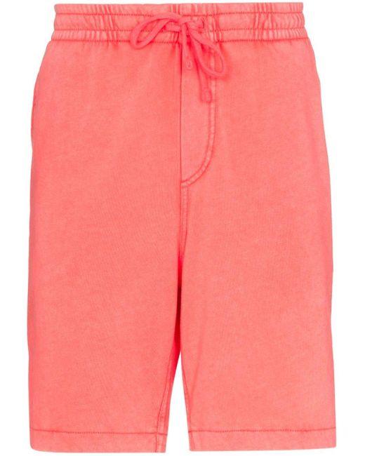 メンズ Polo Ralph Lauren ロゴ トラックショーツ Red