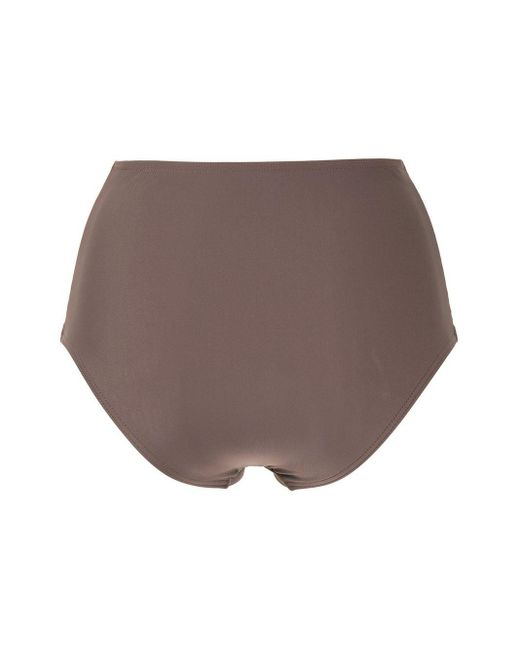 Bas de bikini à taille haute Matteau en coloris Brown