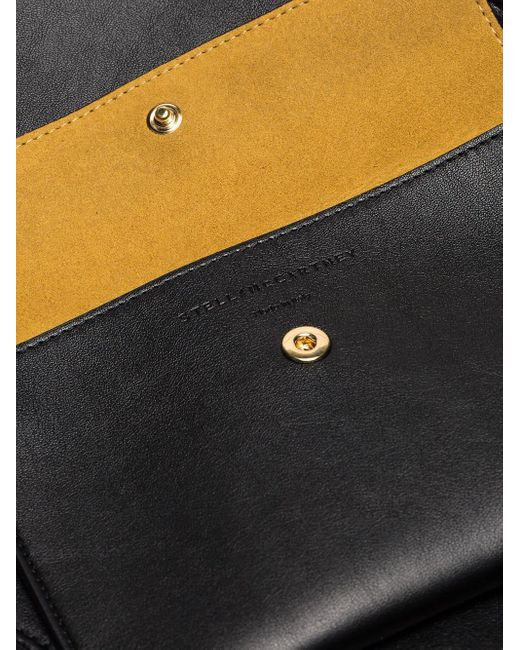Сумка Через Плечо 'stella' С Перфорацией Логотипа Stella McCartney, цвет: Black