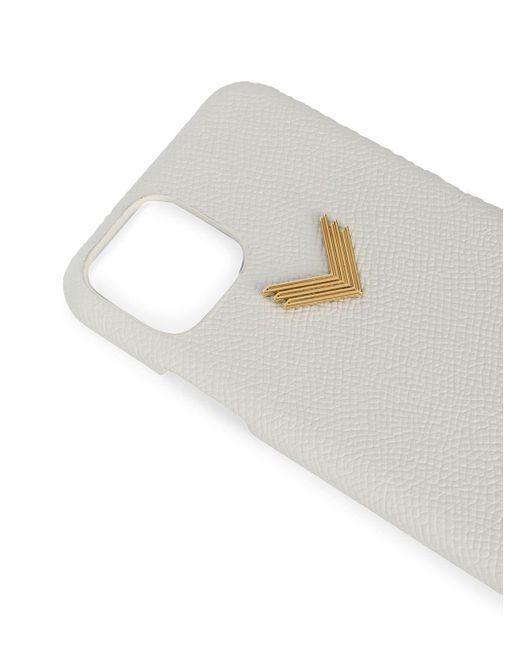 Manokhi レザー Iphone 11 Pro ケース White