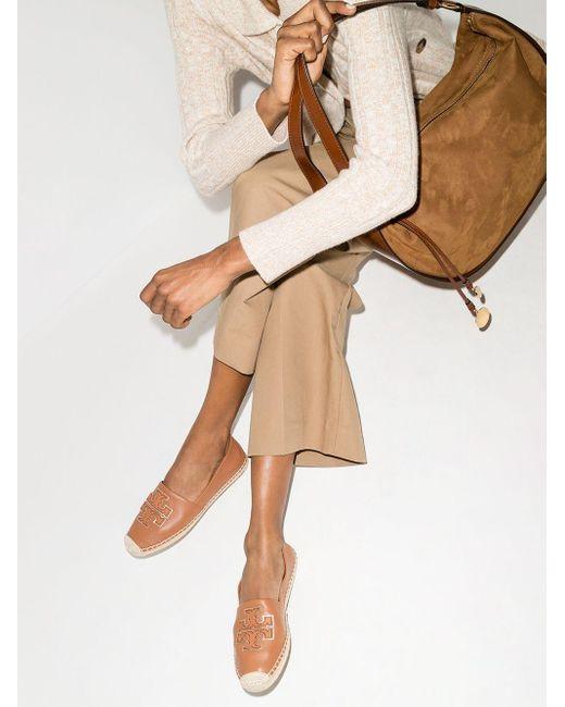 Эспадрильи С Аппликацией-логотипом Tory Burch, цвет: Brown
