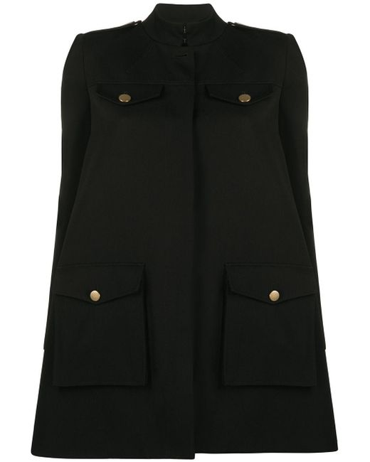 Alexander McQueen オーバーサイズ コート Black