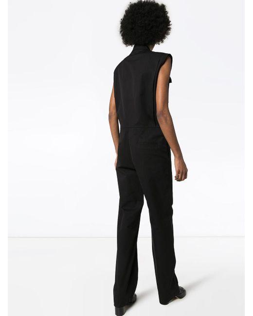 Bottega Veneta ノースリーブ ジャンプスーツ Black