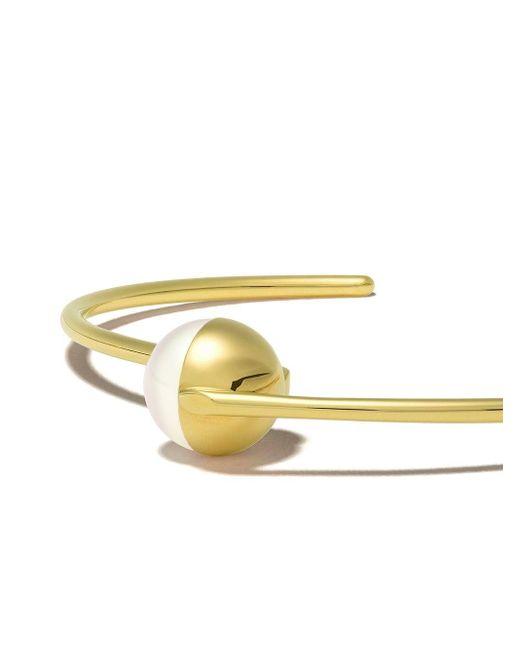 Tasaki Arlequin パール カフブレスレット 18kイエローゴールド Metallic