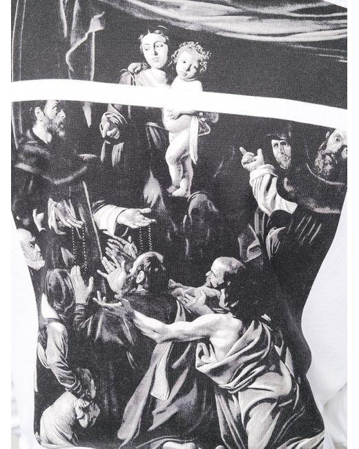 Худи Caravaggio Square Off-White c/o Virgil Abloh для него, цвет: White