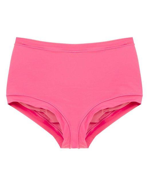Martha Medeiros - Pink Bandeau Bikini Top - Lyst