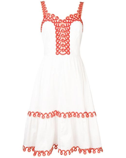 Temperley London Boheme ドレス White