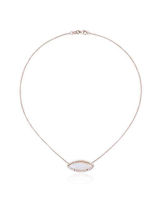 Kimberly Mcdonald - Metallic Opal & Diamond Pendant Necklace - Lyst