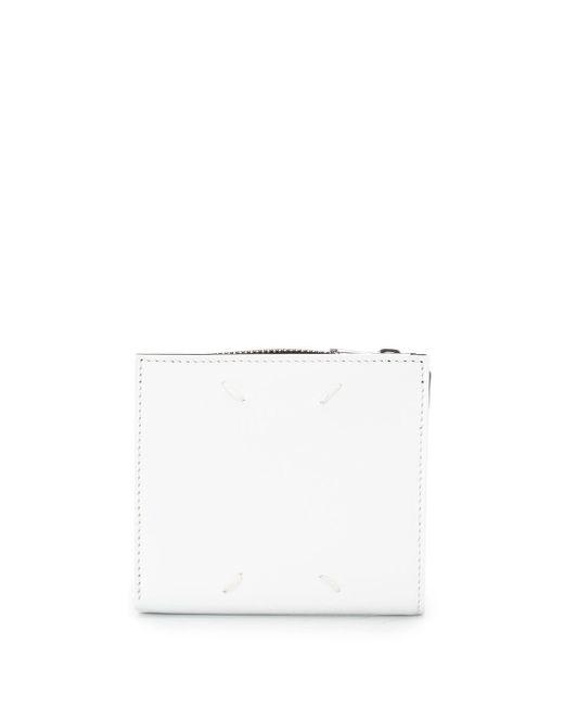 メンズ Maison Margiela 二つ折り財布 White