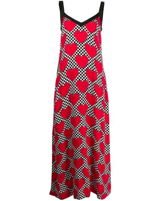 Love Moschino プリント ドレス Red