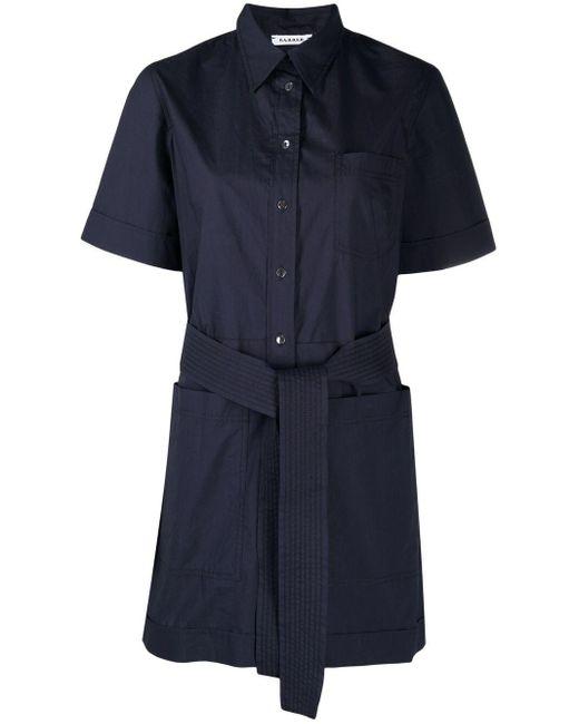 P.A.R.O.S.H. ベルテッド ジャンプスーツ Blue