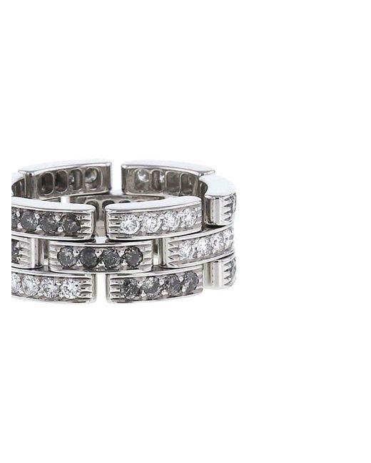 Cartier プレオウンド Maillon Panthère ダイヤモンド リング 18kホワイトゴールド White