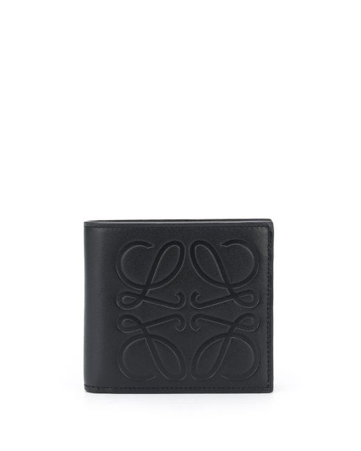 メンズ Loewe アナグラム 財布 Black