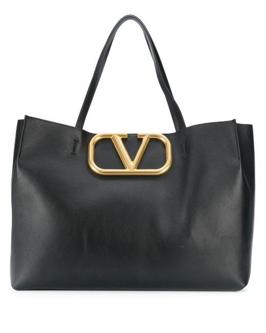Valentino スーパーvee ハンドバッグ Black