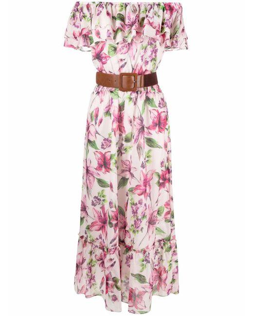 Liu Jo フローラル ドレス Pink