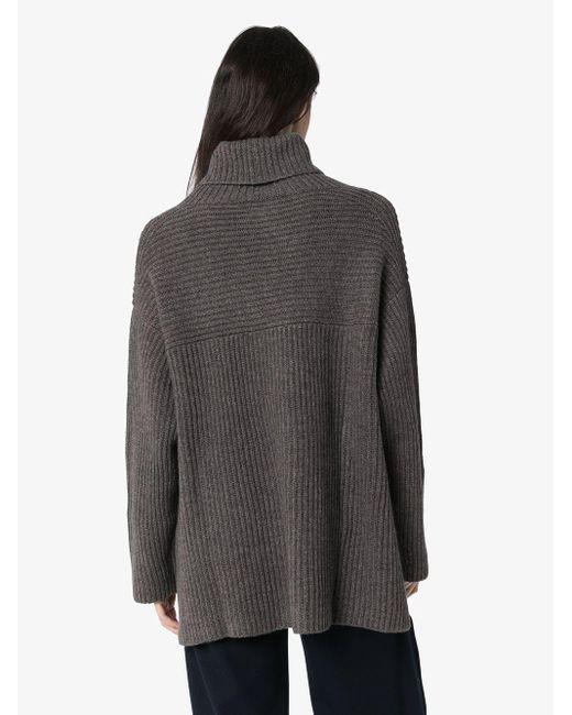 Le Kasha カシミア セーター Gray