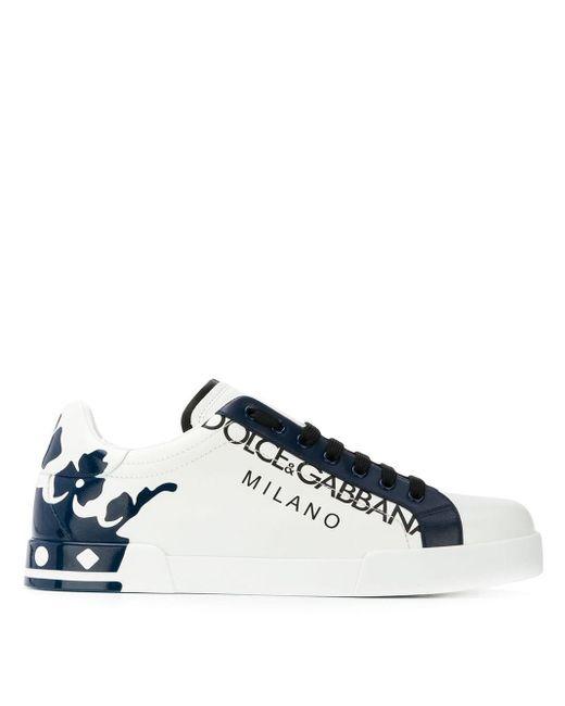 メンズ Dolce & Gabbana ポルトフィーノ スニーカー Blue