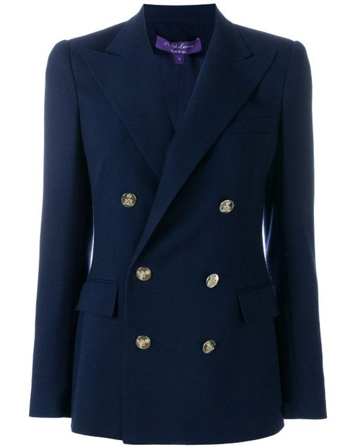 Ralph Lauren Collection ダブル ブレザー Blue