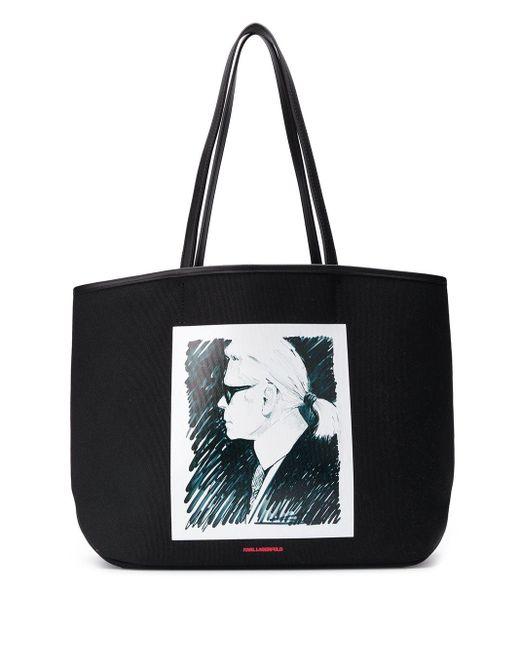 Karl Lagerfeld Karl ハンドバッグ Black