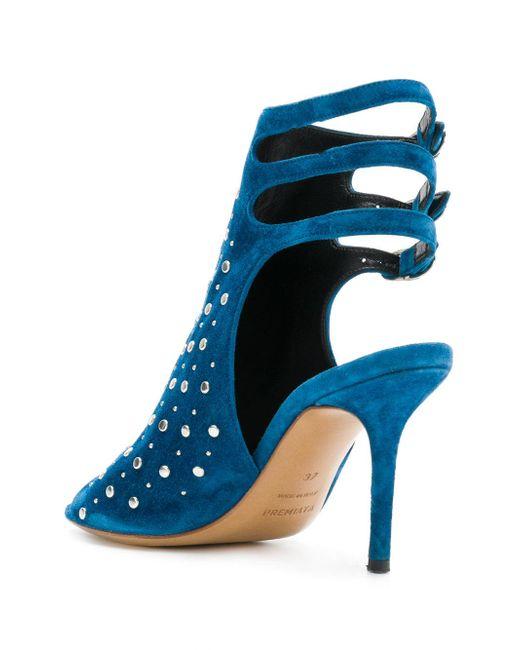 studded sandals - Blue Premiata t4t7rtK