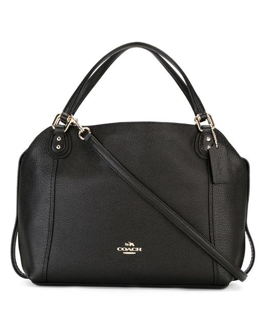 COACH | Black Removable Strap Tote | Lyst