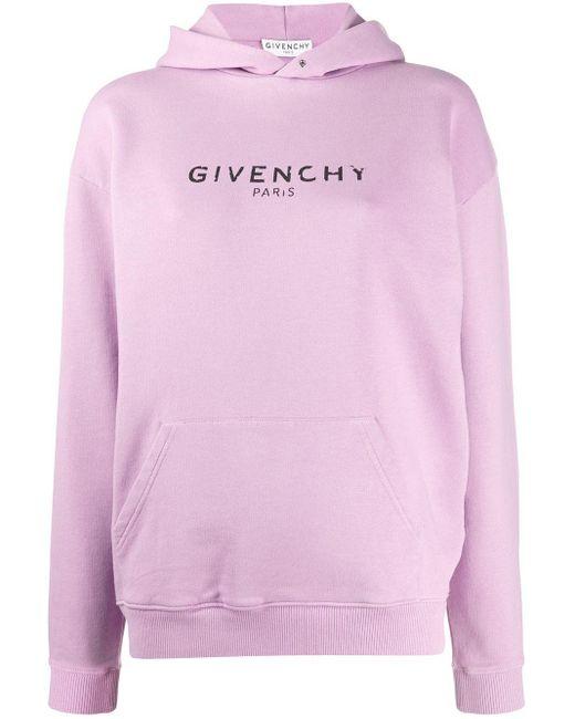 Givenchy ロゴ パーカー Pink