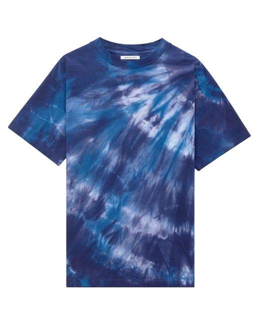 T-shirt à imprimé tie dye John Elliott pour homme en coloris Blue