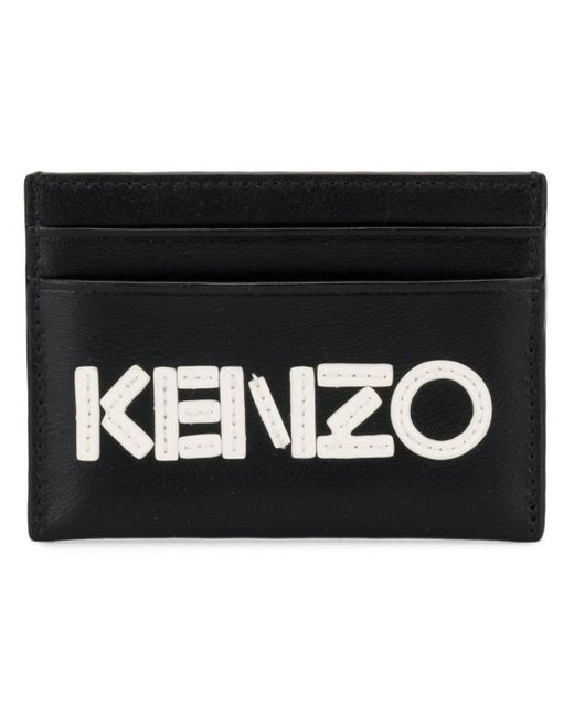 Маленький Футляр Для Карт С Логотипом KENZO для него, цвет: Black