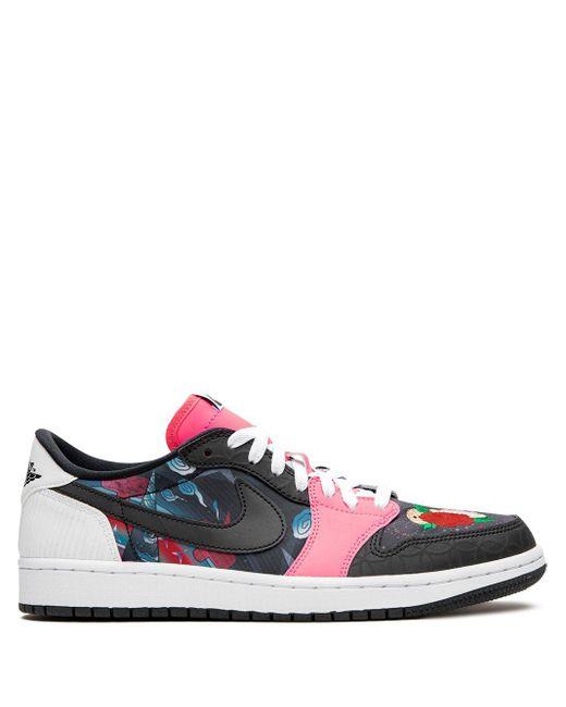 Nike Black Air 1 Low Sneakers for men