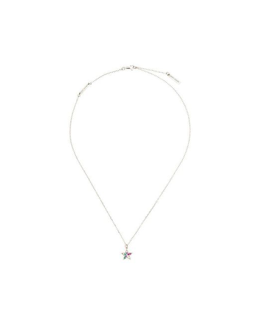 Marc Jacobs   Metallic Rainbow Star Pendant Necklace   Lyst