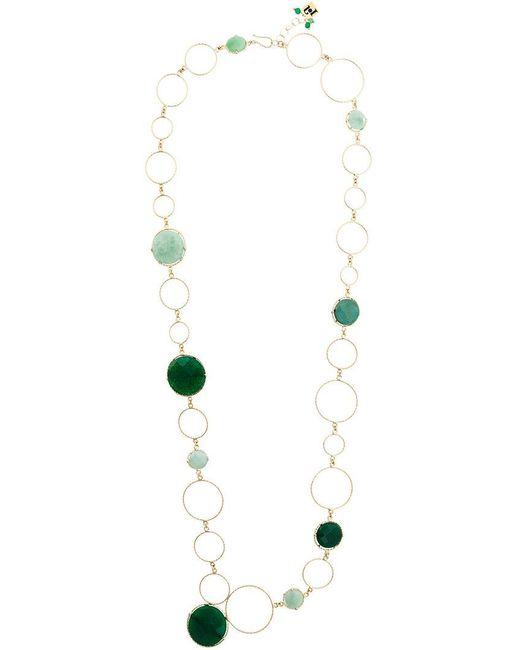 Rosantica - Metallic Raggio Necklace - Lyst