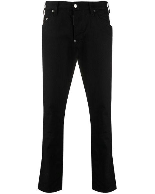 Jeans slim di DSquared² in Black da Uomo