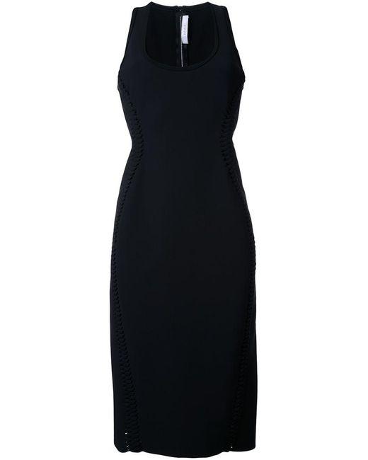 Dion Lee - Black 'braided' Dress - Lyst