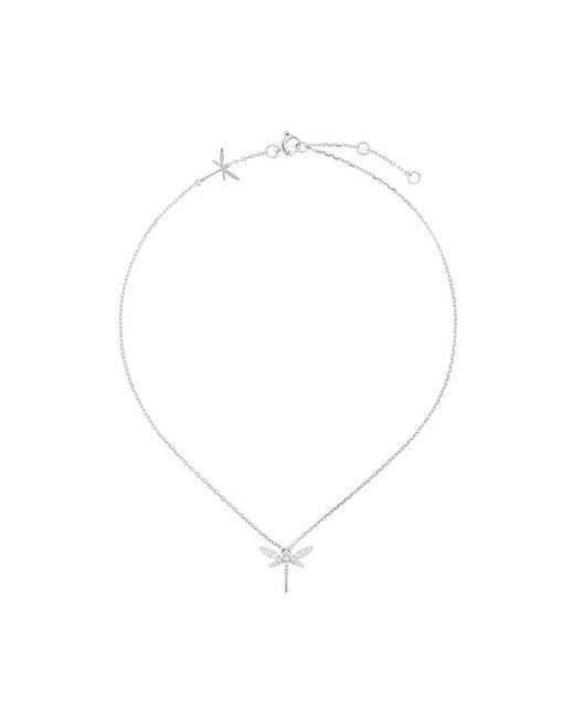 Anapsara dragonfly necklace - Metallic E6gkp7Sk8m
