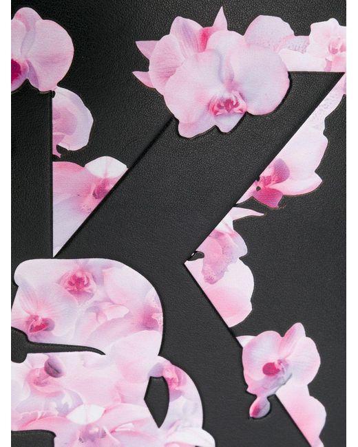 Karl Lagerfeld K/orchid クラッチバッグ Black